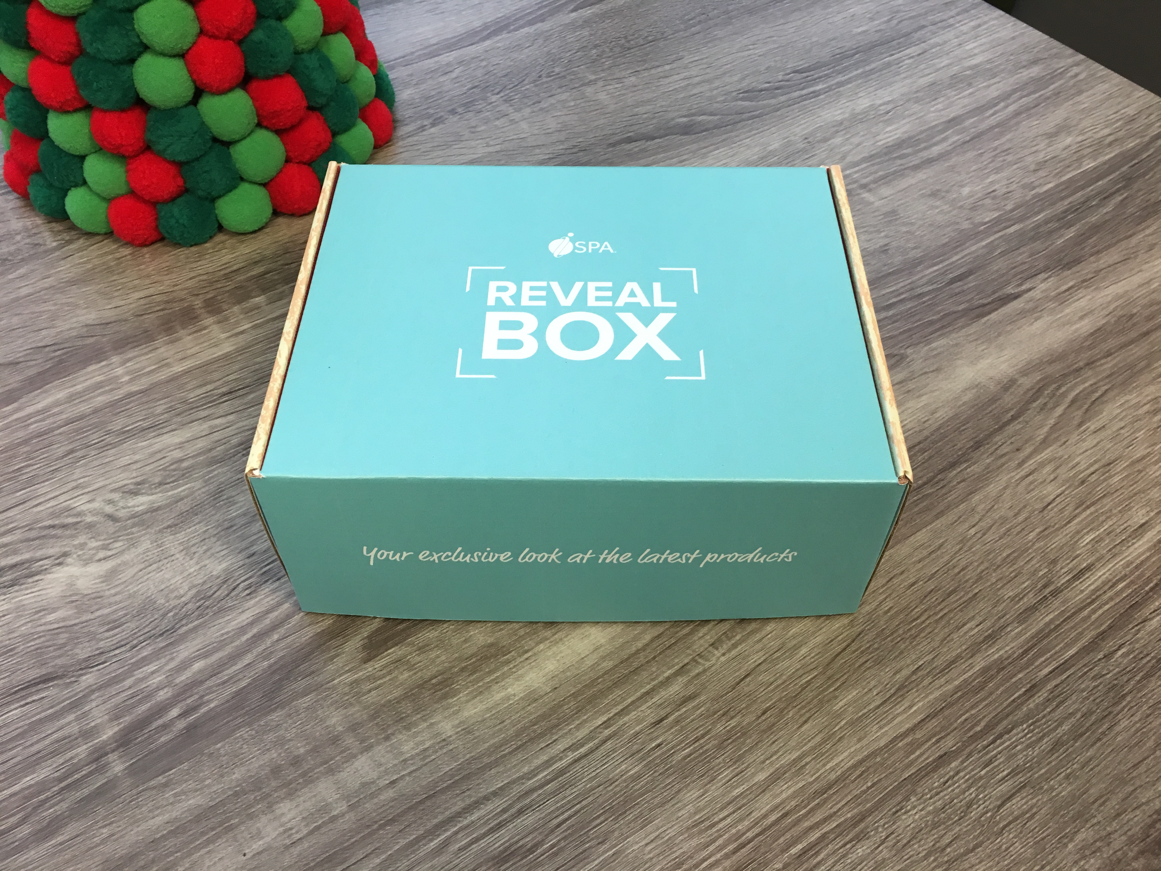 The December 2018 Reveal Box