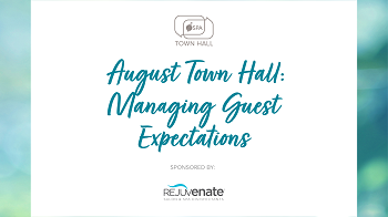 August Town Hall: Managing Guest Expectations